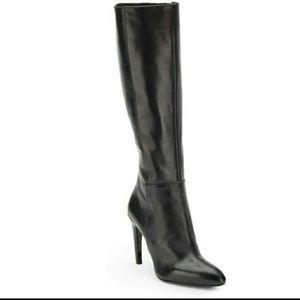 Via Spiga Shoes - Via Spiga Black Knee High Boots NWOB