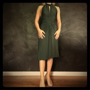 Just Cavalli Dresses & Skirts - Just Cavalli Green Halter Dress NWT
