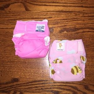 Charlie Banana Other - Pink Cloth Diaper set