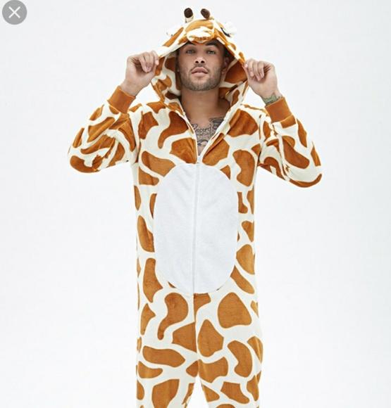 bfb36ce3466f Forever 21 Other - Forever 21 men large giraffe onesie