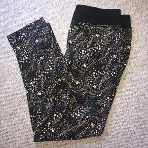 Loft printed fluid pants