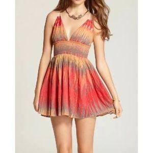 FREE PEOPLE MINI DRESS / Indian summer size XS