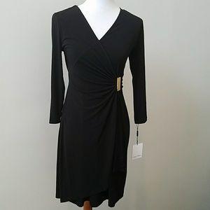 NWT Calvin Klein faux wrap dress ⚘