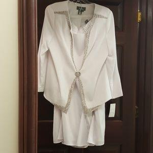 Takara Dresses & Skirts - ladies white elegant suit