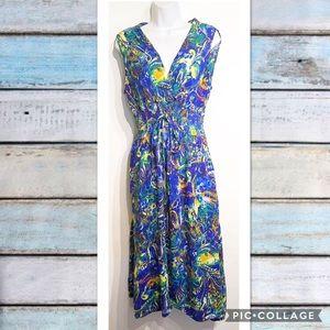 mile gabrielle Dresses & Skirts - Plus Size Colorful Midi Dress