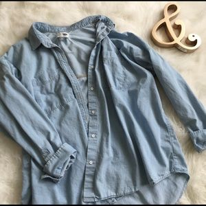 Old Navy Tops - Old Navy Chambray Shirt