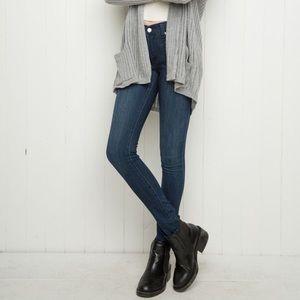 Brandy Melville Denim - Brandy Melville Dark Wash Skinny Jeans S