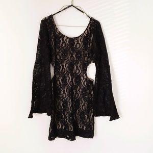 Forever 21 Dresses & Skirts - BLACK LACE DRESS