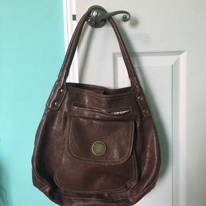 Axcess Handbags - Brown Hobo