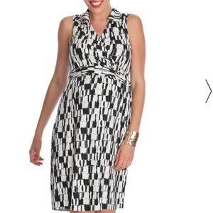 Seraphine Dresses & Skirts - EUC Seraphine graphic print maternity dress size 8
