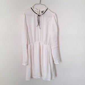 Forever 21 Dresses & Skirts - HIGH-NECK PINTUCKED DRESS