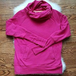 Zella cowl neck hoodie, magenta hoodie