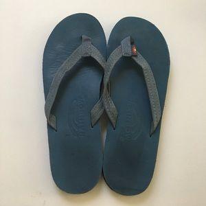 Rainbow Shoes - Blue Rainbow sandals
