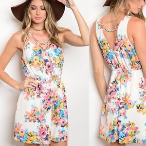 WILA Dresses & Skirts - 🆕 Floral Boho Summer Sundress