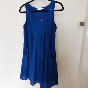 Altar'd State Dresses & Skirts - Altar'd State Blue Dress