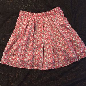 🌸Buy 2 for $10🌸 Floral skirt made in France