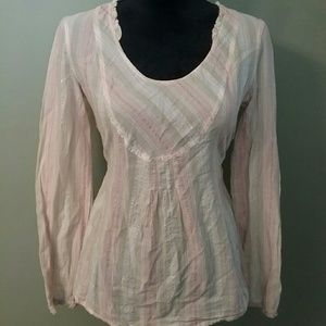 Lilu Tops - Lilu pastel sparkly lightweight blouse