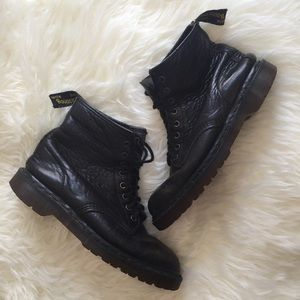 Dr. Martens Shoes - Dr. Martens Black 8 Eye Combat Boots