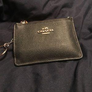 Coach Handbags - Leather Coach Keychain Wallet