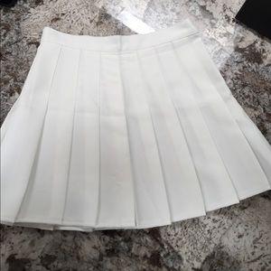 Choies Dresses & Skirts - White Pleated Tennis Skirt