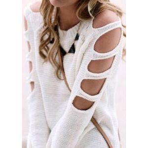 LF Sweaters - LF Cutout Sweater