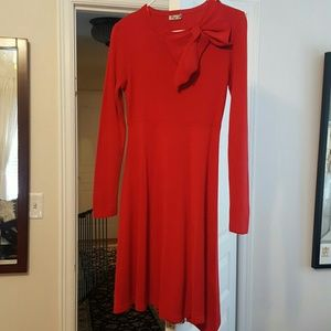 Eliza J Dresses & Skirts - Eliza J red sweaterdress