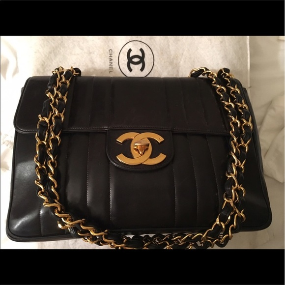 82c8f5ca5114 CHANEL Bags | Vintage Jumbo Traded With Bluberrywillow | Poshmark