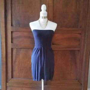 Zenana Outfitters Dresses & Skirts - Zenana outfitters navy tube dress size small