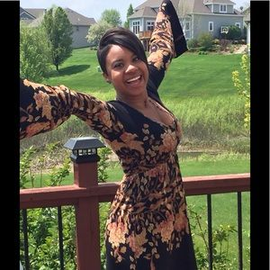 NWT  FREE PEOPLE AMAZING Long Bell sleeve dress