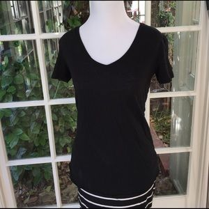 PJ Salvage Tops - Black t-shirt