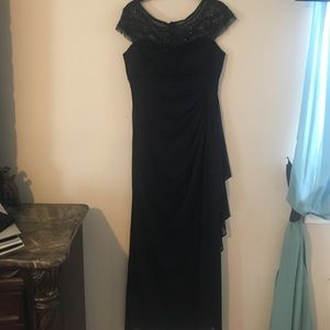 Worn once! All black dress
