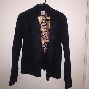 Spool 72 Jackets & Blazers - Spool, pinstripes jacket with lace and buttons