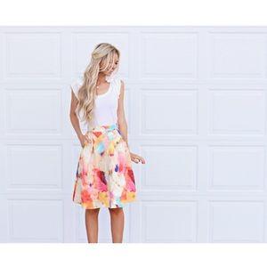 Poetry Dresses & Skirts - 💐🌺Floral Midi Skirt 🌸💐