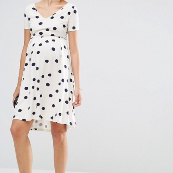 43070b9cc9 ASOS Maternity Dresses   Skirts - ASOS polka dot maternity dress