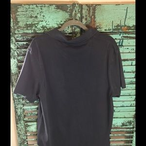 Tasso Elba Shirts - Men's Short Sleeved Charcoal Tee
