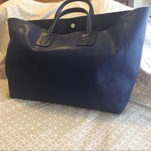 Neil Barrett Handbags - Neil Barrett large tote- Italian made in dark blue