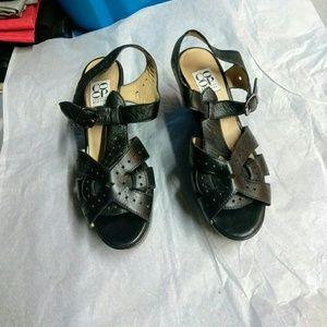 Barneys New York CO-OP Shoes - Barneys Coop Wedge  Sandal