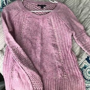 NEW Lilac Pink Sweater