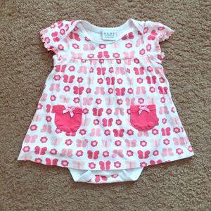 Bon Bebe Other - Cute baby girls shirt top onesie 6-9 months!