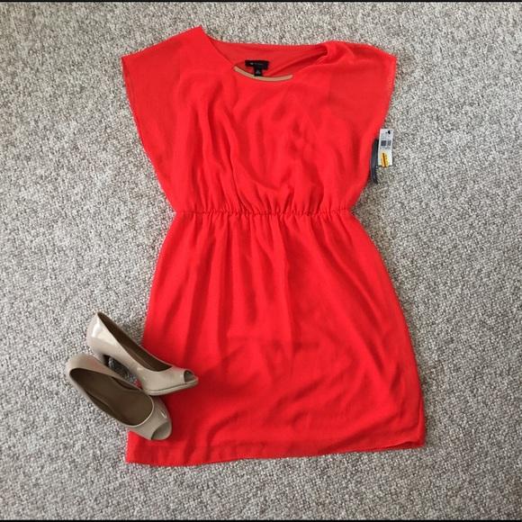 78 off ab studio dresses skirts ab studio xl orange summer dress