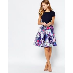 Ted baker hydrangea dress