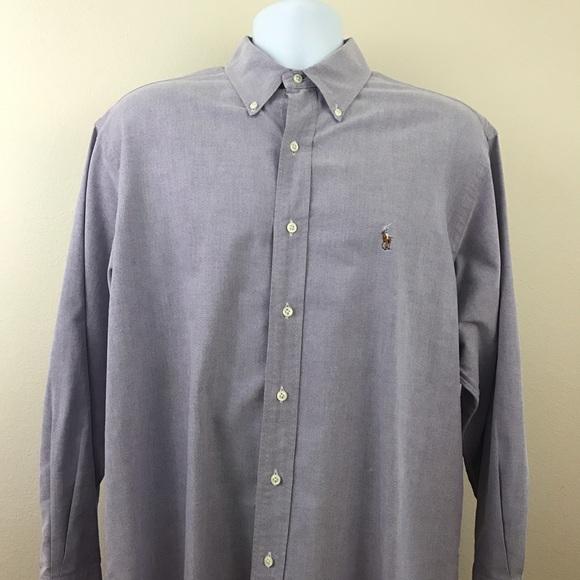 ralph lauren ralph lauren yarmouth dress shirt 16 32