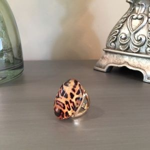  Gold Leopard Cocktail Ring 8