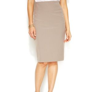 Alfani Dresses & Skirts - Alfani Tan Pencil Skirt