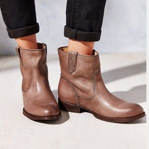 Free People Frye Jamie Stitch Short Ankle Boots