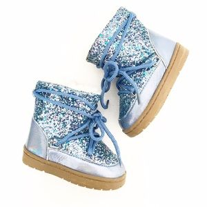 covergirl Other - Covergirl Toddler Sparkle Glitter Iridescent Boots