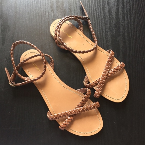 048cb4bb8fe Old Navy Braided Strappy Sandals. M 58f121574225beb04a014e8b