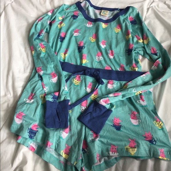 munki munki Intimates & Sleepwear - NWOT adorable teacup pig pajama set size M