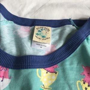 munki munki Intimates & Sleepwear - NWOT adorable teacup pig pajama set size M
