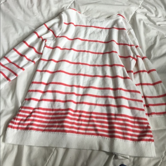 Christopher & Banks Sweaters - pretty striped cardigan size M